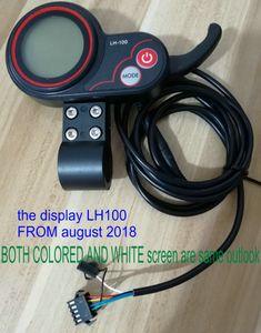 ЖК-дисплей белый / цветной экран + shiftercontroller 24v36v48v60v250w350w-1000w для электрических велосипедов частей мобильных аксессуаров скутера MTB