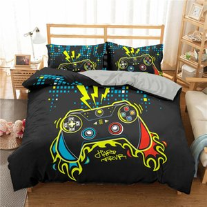 Boniu 3D Bedding Set Cartoon Soft Duvet Cover Creative Style Twin Full Comforter Bed Set Pillowcases Bedclothes