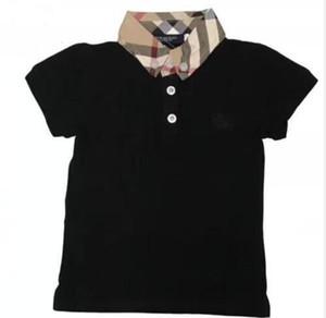 nuevo diseñador de la marca logotipo de la marca Baby boys girls Camisetas camiseta de verano Tops niño niños Camisetas niños Ropa 4 colores