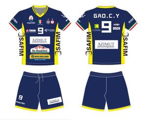 Pallavolo uomini e donne abito a maniche corte tuta sudore respirabile del team di formazione uniformi pallavolo maglia 2020 vestito nuovo