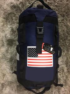 Unisex Genç Seyahat Çantaları Büyük Kapasiteli Tasarımcı yönlü Utility Dağcılık Su geçirmez Sırt Bagaj Açık Çanta