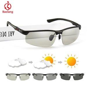 광색 선글라스 남성 변색 편광 썬은 T200619 솔레 빈티지 야외 스포츠 운전 안경 Okulary의 lunette 안경