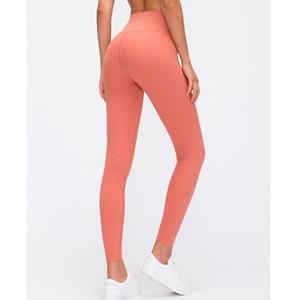 Women Energy Four-Way Stretch Leggings High Waist Push up hips Fitness Sports Leggings Lightweight Align Yoga Pants Gym Leggings Y200529