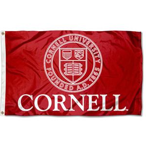 NCAA Flags Cornell-Big-Red-Universität Flagge, 3x5ft Sport doppelt vernähte Alle Länder Werbung Digital gedruckte Polyester, freies Verschiffen
