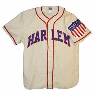 Custom Harlem Globetrotters 1946 Jersey de béisbol Hombres Mujeres Jóvenes Cualquier nombre y número Envío gratis Tamaño S-4XL