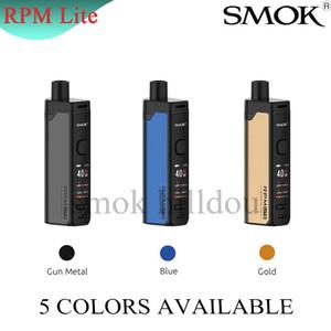 Originale Smok RPM Lite Kit 40W Built-in 1250mAh batteria con 3.2ml RPM Cartuccia Pod Lite 0.96 pollici RPM setaccio a maglie Coil