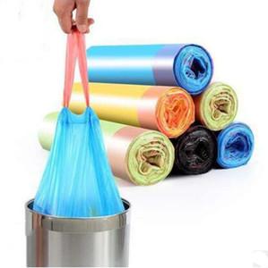 쓰레기 가방 휴대용 자동 쓰레기 가방 일회용 색상 가정용 토트 주방 화장실 주최자 플라스틱 가방 호텔 쓰레기 봉투 ZYQ428