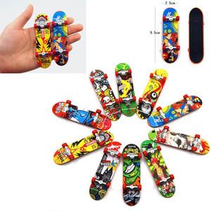 Mini Fingerboards Skate truck Imprimer Professionnel En Plastique Stand FingerBoard Skateboard Finger Skateboard pour Enfant Jouet Enfants Cadeau