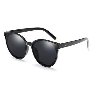 Vintage Cat Eye para mujer Gafas de sol Diseñador de la marca Marco Señoras gafas Puntos Gafas de sol Chica Moda Mujer gafas de sol polarizadas