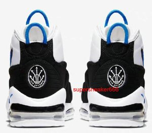 Air More Uptempo Mens Basketball Shoes, High Quality Tri-Color Scottie Triple White Athletic Sport Sneakers Size us 7-12 a13