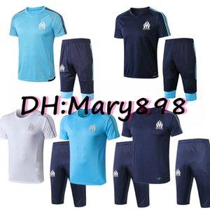 Migliore qualità 19 20 Olympique de Marseille Soccer Wear 2019 2020 PAYET THAUVIN GERMAIN RAMI CABELLA Kit calcio / tute Taglia S M L XL
