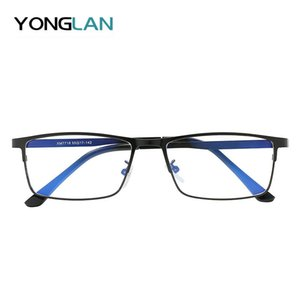 Men Computer Goggles Anti Blue Laser Ray Fatigue Radiation-resistant Glasses Eyeglasses Frame Eyewear