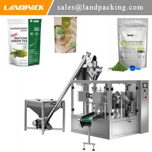 Multifunction Automatic Matcha Powder Premade Pouch Fill And Seal Machine Powder Stand Up Pouch Filling And Sealing Machine