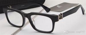 Yeni Vintage Gözlük Tasarım Gittinany Gözlük Reçete Steampunk Küçük Çerçeve Stil Erkekler Şeffaf Lens Temizle