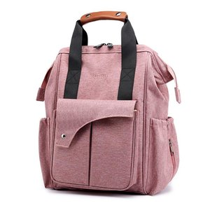 Mommy with Hooks Bag Diaper Large Capacity baby bag travel Nappy diaper backpack waterproof anti-loss maternity for moms