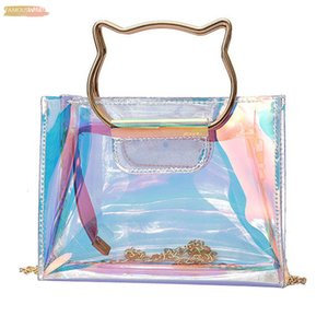 Women Shoulder Bag Fashion Laser Transparent Crossbody Bags Messenger Shoulder Beach Bag 2020 New Design Shoulder Bags N