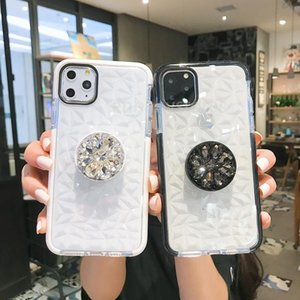 Pattern 1pcs New Diamond Mobile Phone Case Rhinestone Bracket Creative Women For Iphone 7 8 X Xr Xs 11 Pro Max