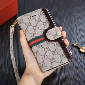 Colorful Wallet Phone Cases For iPhone 8 XR XS 11 Pro Max Samsung Galaxy S20 S20P S20U S10E S10 Note10 Plus Card Slot