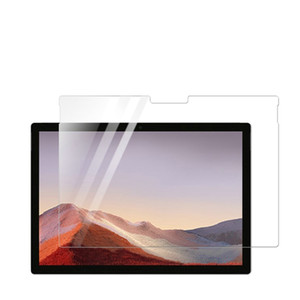 perakende paketi olmadan Microsoft Surface yüzey Pro7 için 200pcs / lot Şeffaf Lcd Ekran Koruyucu Film / pro X
