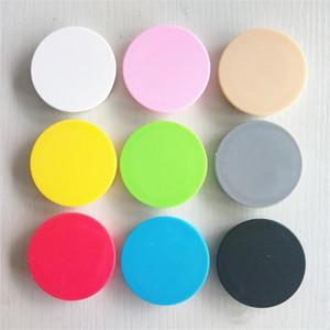 Gerçek 3M yapıştırıcı Grip360 Derecesi Parmak Tutucu standı ile Akıllı telefon masaüstü standın prizleri tabletler için saf renk cep telefonu sahibi