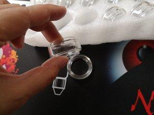 Придерживайтесь V9 Max Расширенный Pyrex Стеклянная трубка Толстяк Выпуклый прозрачный цвет Замена рукава Лампы Пузырьковые трубки Fit Stick V9 Max Tank DHL