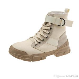 дизайнерские ботинки Martin Desert Boot flamingos Love arrow медаль пряжка ремня натуральная кожа грубая зима черный серый бежевый Повседневная обувь