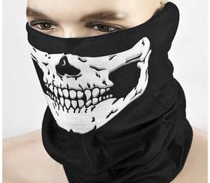 New Crânio Veil Outdoor motocicleta bicicleta multi Headwear Hat Scarf metade do rosto Máscara Cap Neck Santo Scarf Halloween mask1