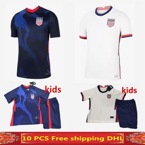 4 stelle nuova 2020 l'America Jersey di calcio Lavelle camicia campione USA Casa lontano 20 21 LLOYD Stati Uniti maglia da calcio kit Uomi bambini uniforme