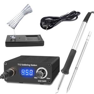 T12 Lehimleme İstasyonu Kızılötesi Lehimleme İstasyonu Taşınabilir BGA Rework Station ile Lehimleme İpuçları Kaynak Araçları