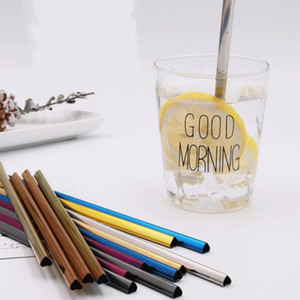 Heart 304 Stainless Steel Drinking Straws Food Grade Nontoxic Colorful Cute Couple Straw For Wedding Souvenirs Durable Rust Proof 1 65ws E19