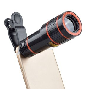 Dropshipping New Mobile Phone Camera Lens 12X Zoom Telephoto Lens External Telescope With Universal Clip for Smartphone