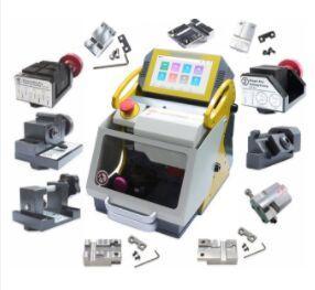 2019 100% Original novo SEC E9 12 Grampos CNC Key automática máquina de corte Para Carro Chaves da casa Chaves Better Than slica I80 Key Máquina
