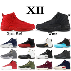 2019 XII 12 Hommes Chaussures de Basketball Wntr PRM CNY Gymnase Rouge Playoff The Master 12s Designer Chaussures Sport Baskets De Sport 40-47