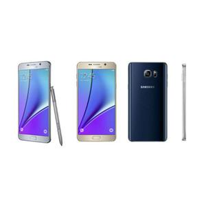 Samsung Galaxy Note 5 Note5 N920A N920T N920F 4GB / 32GB 5.7inch Smartphone WIFI GPS Bluetooth Kamera Yenilenmiş Orijinal Kilitli Cep telefonu