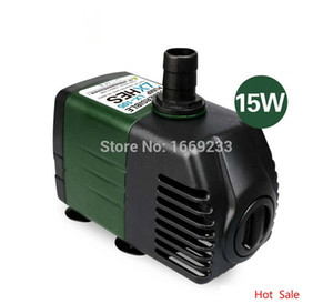 Wholesale-Hydroponic systems Silent Submersible Water Pump Aquarium accessories for Fish Tank Rockery Fountain Pond Pump 220V 15W 1800 L H
