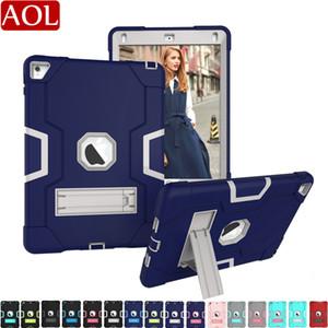 Pour nouvel iPad 10,2 9,7 10,5 11 pro air air2 2/3/4 mini-1/2/3 Housse de protection anti-choc 3in1 dur hybride robuste Robot Cover