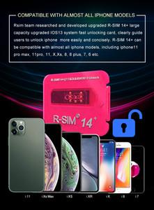 Os mais recentes RSIM 14+ V18 R sim14 + RSIM14 + R SIM 14+ RSIM 14+ desbloqueio do cartão iphone 11 pro Max IOS13 ICCID desbloqueio sim RSIM14 +