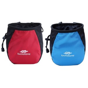 Adjustable Waist Belt Chalk Bag Magnesium Storage Pouch for Rock Climbing with Drawstring