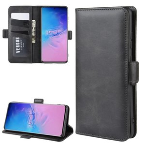 For Galaxy S20 Ultra Dual-side Magnetic Buckle Horizontal Flip Leather Case with Holder & Card Slots & Wallet