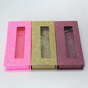 Toptan kare yanlış kirpik ambalaj kutusu özel logo sahte 3d vizon kirpik kutuları manyetik kasa lashes boş kutu