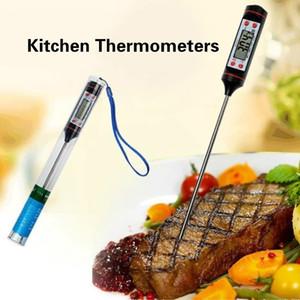 Цифровой кухонный термометр для мясного водяного молока, приготовление пищи пищевой зонд барбекю электронные термометр духовки кухонные инструменты