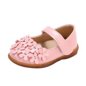 소녀 공주 레저 어린이 신발 샌들 유아 2020 패션 사랑스러운 소녀 꽃 아플리케 어린이 신발