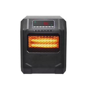 Calentador de espacios calentadores de cerámica eléctricos portátiles para Quiet Oficina de Personal calentadores debajo del escritorio oscilante piso calentador con Tip-OverOverhe