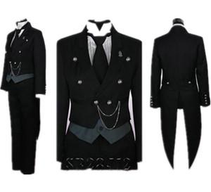 블랙 디콘 - Sebastian Cosplay Tuxedo / Anime / Dress