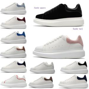 2020AlexanderBoxmcqueenWildleder McQueens Schuhe erhöhen Leder Turnschuhe arbeiten Plattformschuhe Luxus Männer Frauen