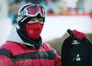 Néoprène cou demi-visage Masque de ski chaud / Sports de plein air Masque / Vélo masque Moto / Domire unisexe anti-poussière / coupe-vent demi-capot visage