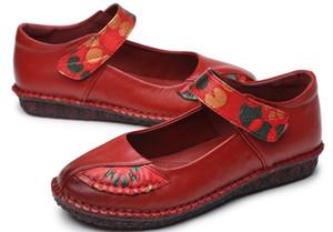 2018 Nuevo estilo para mujer Zapatos de mujer en primavera y otoño con talón antideslizante.
