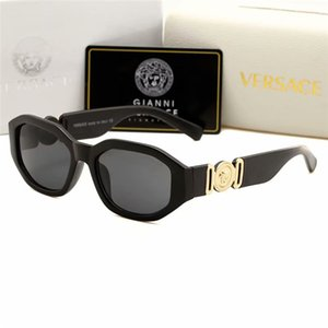 . Occhiali da sole pilota con montatura nera opaca di alta qualità per uomo e donna Occhiali da sole vintage da sole con marca e occhiali da sole firmati