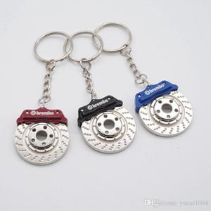 سيارة المفاتيح الفرامل القرص التصميم الإبداعية البسيطة مفتاح سيارة حلقة مفتاح سيارة سيارة سلسلة كيرينغ لاكسسوارات السيارات دروبشيبينغ