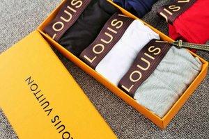 New underpants man 10pcs cuecas brand men boxer cotton 365 boxers shorts sexy U design underwear Male cueca Calzoncillos